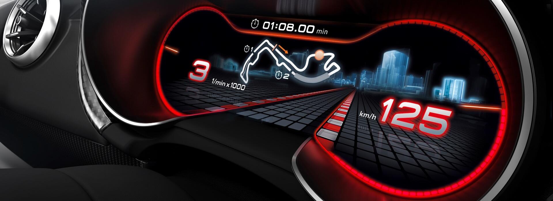 Tachojustierung-Audi-Tachometer