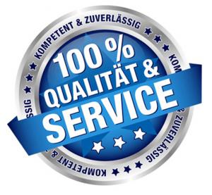 Qualitätsgarantie und Service-Garantie für die Tachojustierung