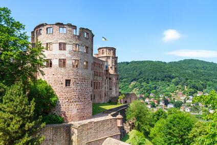Tachojustierung Heidelberg, Schloß Heidelberg Tachojustierung